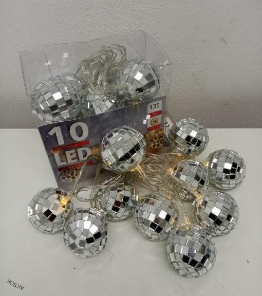 Led Balls disco koule 10x